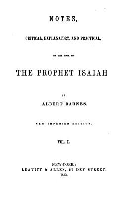 Notes on the Book of Prophet Isaiah PDF