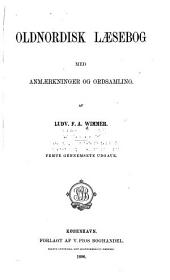 Oldnordisk laesebog: med anmaerkninger og ordsamling