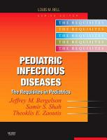 Pediatric Infectious Diseases E Book PDF