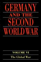 Germany and the Second World War PDF
