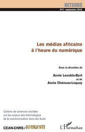 Les médias africains à l'heure du numérique