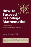 How to Succeed in College Mathematics PDF
