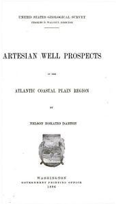 Artesian Well Prospects in the Atlantic Coastal Plain Region