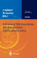 Advanced Microsystems for Automotive Applications 2004 PDF