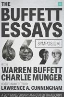 The Buffett Essays Symposium PDF