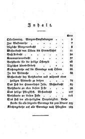 Vollständiges christkatholisches Gebethbuch: Andachtsübungen für die heil. Oster- und Pfingstzeit, Band 4