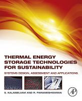 Thermal Energy Storage Technologies for Sustainability PDF