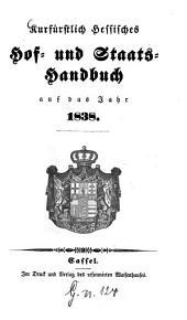 Kurfürstlich Hessisches Hof- und Staatshandbuch