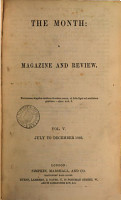 the month a magazine an dreview vol v  july to december 1866 PDF