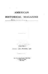 Americana, American historical magazine: Volume 1