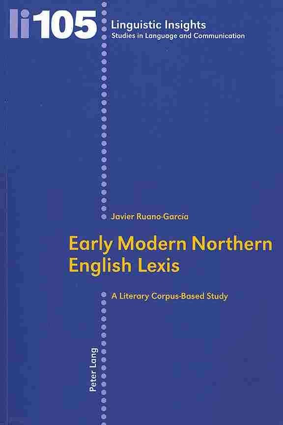 Early Modern Northern English Lexis