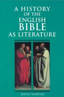 A History of the English Bible as Literature PDF
