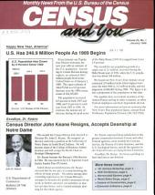 Census and you: monthly news from the U.S. Bureau of the Census, Volume 21, Issue 1