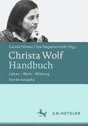 Christa Wolf Handbuch PDF