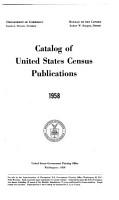 Catalog of United States Census Publications PDF