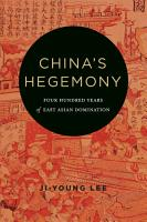 China s Hegemony PDF