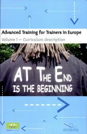 Advanced Training for Trainers in Europe: Curriculum description