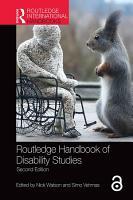Routledge Handbook of Disability Studies PDF