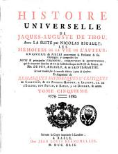 Histoire universelle: le tout traduit sur la nouvelle édition latine de Londres, Volume5