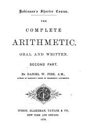 The Complete Arithmetic: Oral and Written