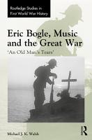 Eric Bogle  Music and the Great War PDF