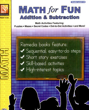 Math for Fun  Addition   Subtraction PDF