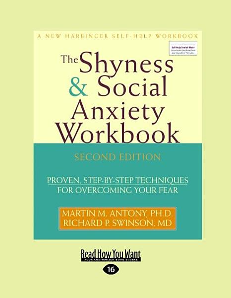 Download The Shyness and Social Anxiety Workbook Book