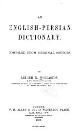 An English-Persian Dictionary
