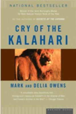 Download Cry of the Kalahari Book