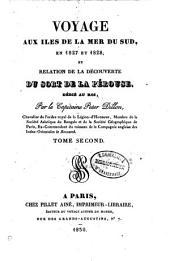 Voyage aux îles de la mer du Sud en 1827 et 1828 et relation de la découverte du sort de La Pérouse: Volume2