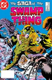 The Saga of the Swamp Thing (1982-) #22