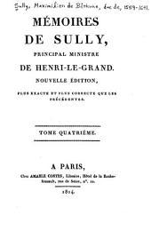 Mémoires de Sully, principal Ministre de Henri-le-Grand: Volume4