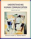 Custom Version of Understanding Human Communication Book