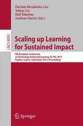 Scaling Up Learning For Sustained Impact Book PDF