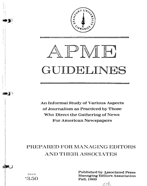 APME Guidelines PDF