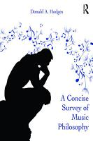 A Concise Survey of Music Philosophy PDF