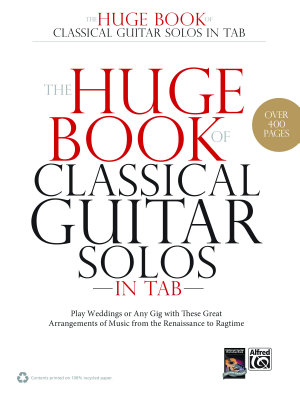 The Huge Book of Classical Guitar Solos in TAB PDF