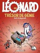 Léonard - tome 40 - Un trésor de génie