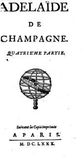 Adelaïde De Champagne: Volume4