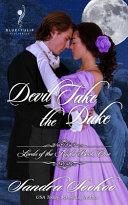 Devil Take the Duke Book