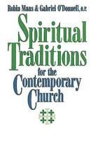 Spiritual Traditions for the Contemporary Church PDF