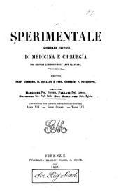 Lo Sperimentale: Volume 19