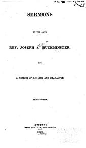 Sermons by the Late Rev. J. S. Buckminster