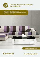 Técnicas de tapizado de mobiliario. TCPF0209