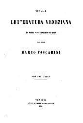 Della letteratura Veneziana ed altri scritti intorno ad essa