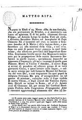 Matteo Ripa [biografia di Vito Capialbi da Montelione]