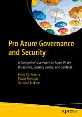 Pro Azure Governance and Security PDF