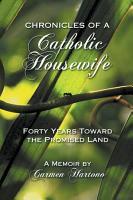 Chronicles of a Catholic Housewife PDF