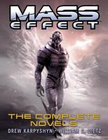 Mass Effect  The Complete Novels 4 Book Bundle PDF