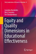 Equity and Quality Dimensions in Educational Effectiveness